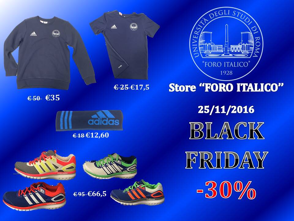 BLACK FRIDAY FORO ITALICO
